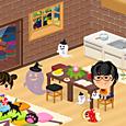 ネコとお部屋
